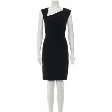 One-Shoulder Mini Dress Black