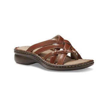 Eastland Women's Sandals CHESTNUT - Chestnut Lila Opanka Leather Sandal - Women
