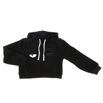 Chiara Ferragni Flirting Sweatshirt With Hood
