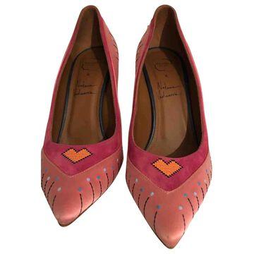 Malone Souliers \N Pink Cloth Heels