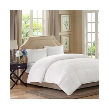 Sleep Philosophy Benton Double-Layer Microfiber White King/California King Down-Alternative Comforter