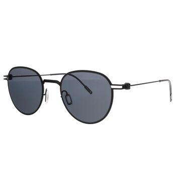 Montblanc MB0002S-001 Black Aviator Sunglasses - 48-21-145