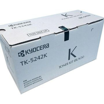 Kyocera 1T02R70US0 Model TK-5242K Black Toner Cartridge for M5526cdw/ P5026cd...