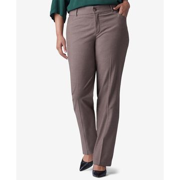 Plus & Petite Plus Size Madelyn Straight-Leg Trousers