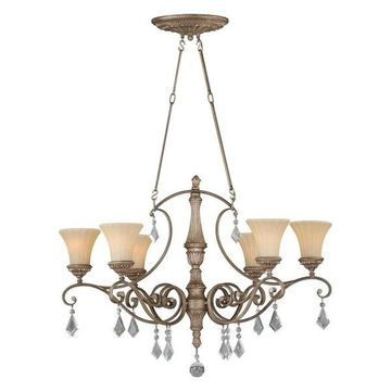 Vaxcel Lighting H0142 Avenant 6 Light Chandelier