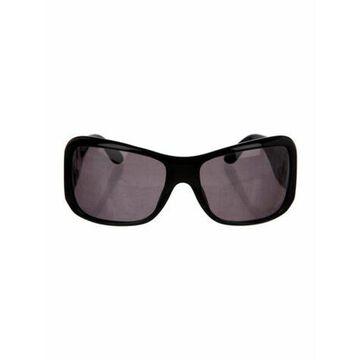 Square Tinted Sunglasses Black