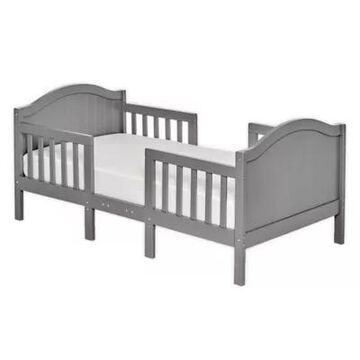 Dream On Me Portland 3-In-1 Convertible Toddler Bed In Steel Grey