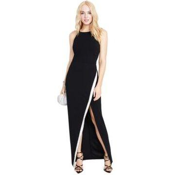 Bcx Juniors' High Slit Asymmetrical Sequin-Trim Gown