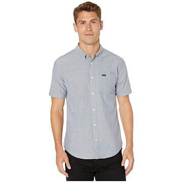 RVCA That'll Do Stretch Short Sleeve (Distant Blue) Men's T Shirt