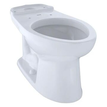 TOTO   Eco Drake Elongated Toilet Bowl, Cotton White - C744E#01