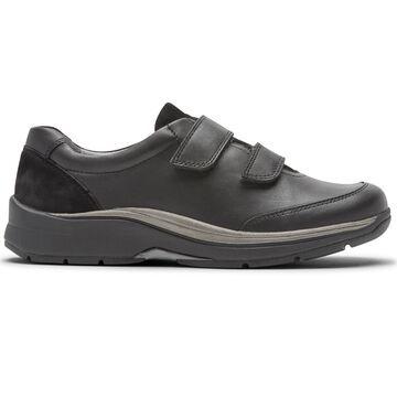 Aravon Womens Pyper Two-Strap Walking Shoes - Size 10 D Black