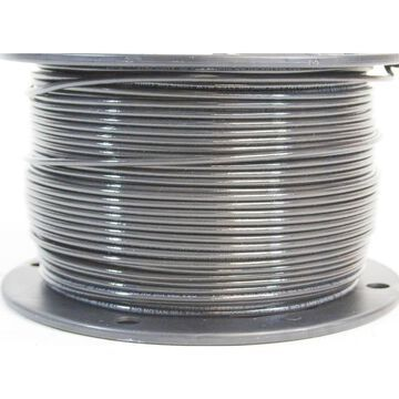 Southwire SIMpull 500-ft 8-AWG Stranded Grey Copper THHN Wire (By-the-Roll)