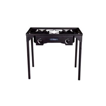 Stansport Outdoor Stove With Stand - Two Burners
