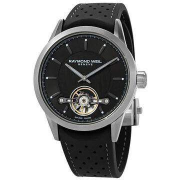 Raymond Weil Freelancer Automatic Black Dial Men's Watch 2780-TIR-60001