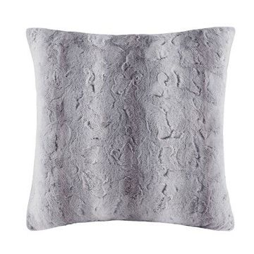 Home Essence Marselle Faux Fur Euro Pillow