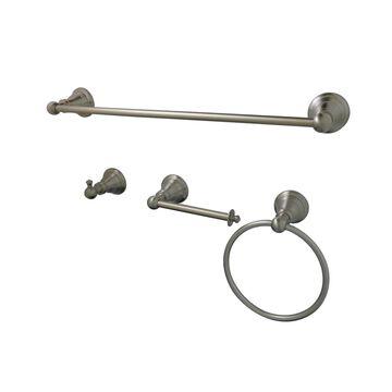 Kingston Brass American Classic 4-Piece Bathroom Accessory Set Bedding