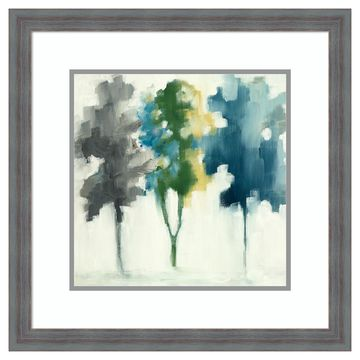 Amanti Art Trees III Framed Wall Art