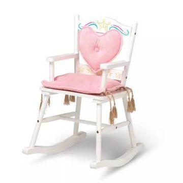 Wildkin Polyester Royal Princess Chair In White