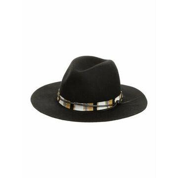 Wool Chapeau Fedora w/ Tags Black
