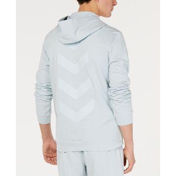 Men's Quarter-Zip Chevron Graphic Hoodie, Created for Macy's