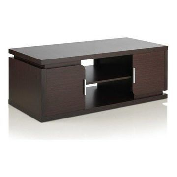 Furniture of America Burkhart Coffee Table in Walnut