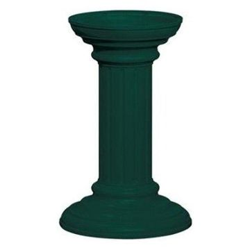 Salsbury Industries 3396GRN Regency Decorative Pedestal Cover, Green,