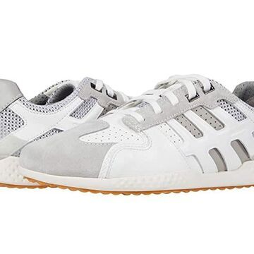 Geox Snake (White/Light Grey) Men's Shoes