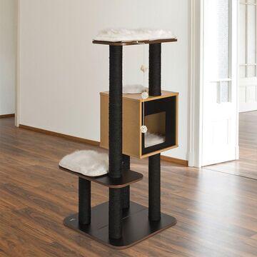 Vesper High Base 47.8-in Modern Cat Tree & Condo