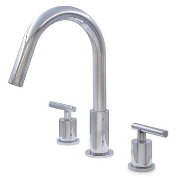 Novatto WALTZ Widespread 2-Handle Lavatory Faucet in Chrome (Chrome)