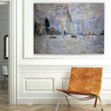 Wexford Home 'The Boats Regatta at Argenteuil' Canvas Wall Art