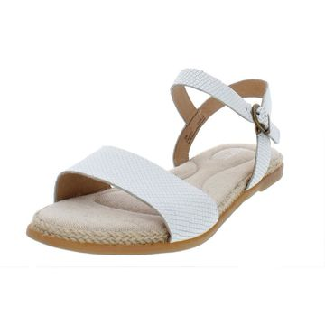 Born Womens Welch Leather Espadrille Flat Sandals