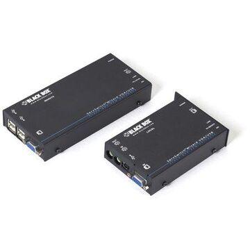Black Box Wizard KVM Extender - VGA, USB, Audio, Dual-Access, CATx