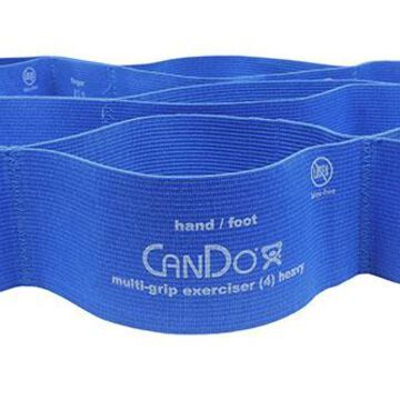 CanDo Multi-Grip Exerciser, heavy, blue, case of 24