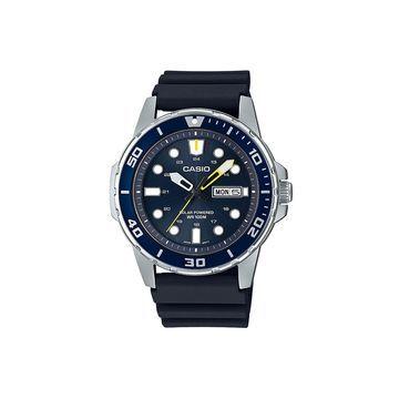 Casio Mens Black Strap Watch-Mtps110-2av