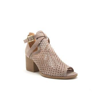 Qupid Womens Core-114x Heeled Sandals