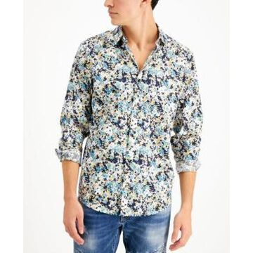 Men's Inc International Concepts Long Sleeve Dabney Shirt