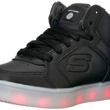 Kids Skechers Boys Energy Lights Low Top Lace Up