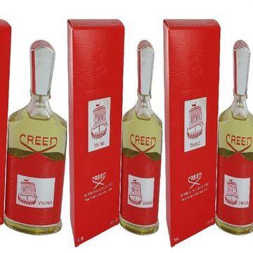 3 Pack Viking by Creed Eau De Parfum Spray 3.3 oz for Men
