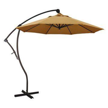 California Umbrella 9' Cantilever Umbrella in Wheat