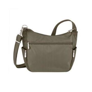 Travelon Anti-Theft Classic Crossbody Bucket Bag