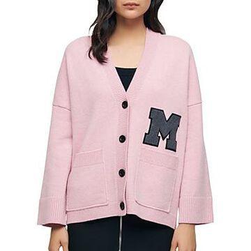 Maje Maissane Varsity Cardigan