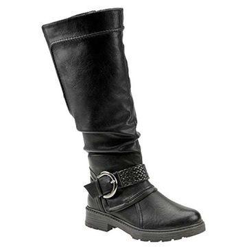 Wanderlust Womens Steffi Closed Toe Knee High Fashion Boots
