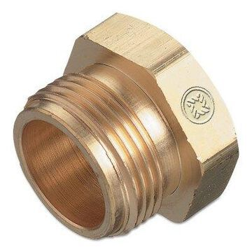 Torch Tip Nut Replacements, Brass, 7/8 in - 20, Hex, Male