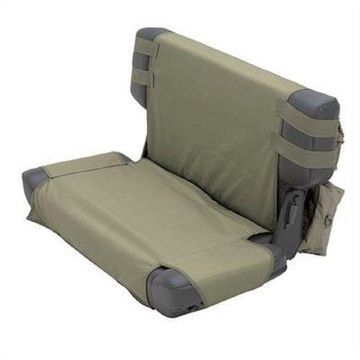 Smittybilt 5660231 G.E.A.R. Seat Cover Rear Olive Green For 1976-1986 Jeep CJ