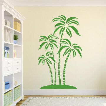 Style and Apply Abstract Palms Wall Decal