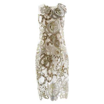 Mary Katrantzou Khaki Polyester Dresses