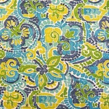 Blazing Needles 48-inch Indoor/Outdoor Papasan Cushion (Destiny Carribean)