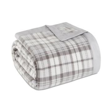True North by Sleep Philosophy Plaid Micro-Fleece Twin Blanket Bedding