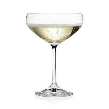 Godinger Meridian Champagne Coupe Glasses (Set of 12)