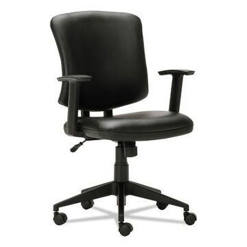 Alera Everyday Task Office Chair, Supports Up To 275 lb., 17.6 in. to 21.5 in. Seat Height, Black, ALETE4819
